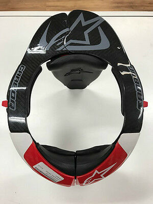Alpinestars Carbon Bns Neck Support Blk/red