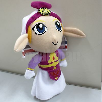 "7"" The Legend of Zelda PRINCESS Plush Doll Handmade Toy Lovely US ship Fast New"