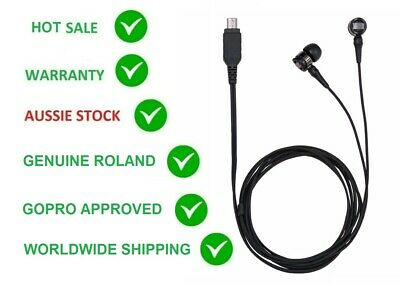 ROLAND WPM-10 WEARPRO 3D STEREO MICROPHONE/MIC FOR GoPro HERO3, 3+, HERO4 BOSS.