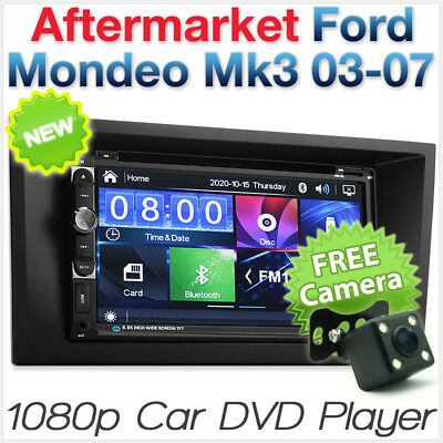 "7"" Car DVD Player USB MP3 For Ford Mondeo Mk3 Fascia Kit ISO Stereo Radio CD ET"