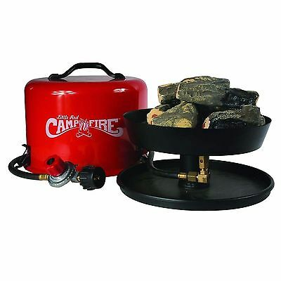 Camco Portable Outdoor Olympian Propane Gas Camping Travel Cooking Fire Tray Set