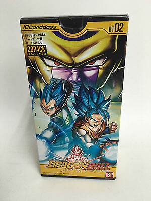 F/S IC Carddass Dragon Ball BT02 Vol.2 Booster BOX  Bandai New Japan w/tracking