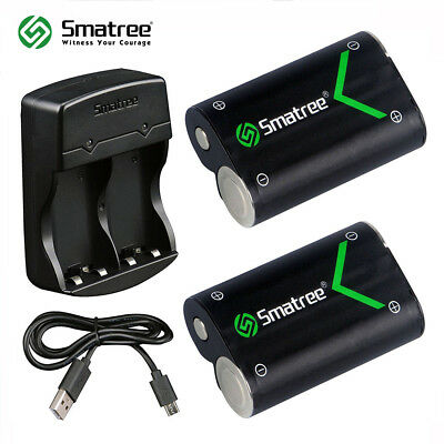Smatree Rechargeable Battery Pack for Xbox One/ Xbox One S Wireless Controller