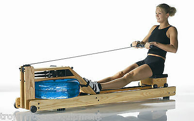 Water Rower Natural + FREE Trojan Folding FID AB Crunch Board Folding Bench