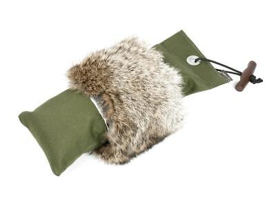 Mystique® Pointer Dummy 1,5kg khaki mit Fell Felldummy