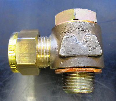"Wade 12mm OD X 3/8"" Brass Single Banjo coupling & Steel Bolt - Part No MJ112/241"