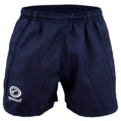 Optimum Sports Wellington Shorts Lightweight Training Rugby Football Gym- Navy