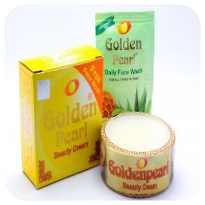 1 Pc GOLDEN PEARL BEAUTY CREAM 100% Original Free Face Wash Pimples Removing 30g