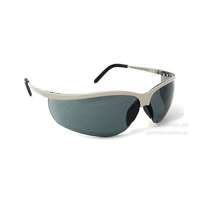 3M Race/Rally/Mechanics Metaliks Sport Safety Glasses - Grey - 71461-00004M