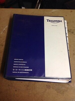 Triumph Sprint ST & RS 955 Genuine Triumph Service Manual