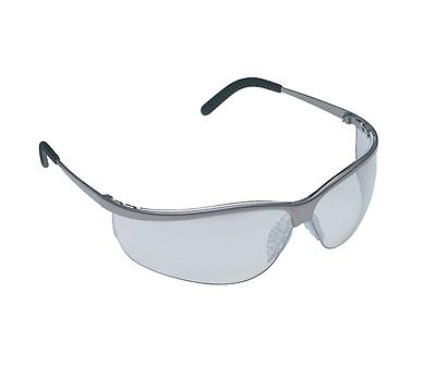 3M Race/Rally/Mechanics Metaliks Sport Safety Glasses - Grey - 71461-00001M