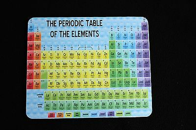 Periodic Table, Chemistry, GCSE, A Level, Revision Student Mouse Mat