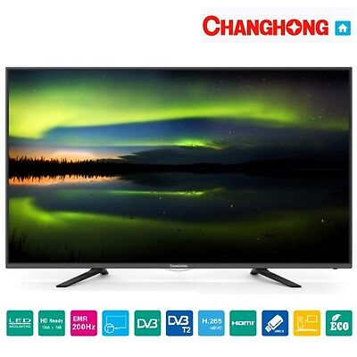 "TV 32"" POLLICI LED32D2080T2 HD CHANGHONG DVB-T2 USB VGA CI+ HDMI sped 24h"
