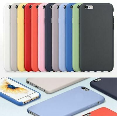 Original Case Genuine Silicone Cover Case For Apple iPhone SE 6S 7 8 Plus + X XR