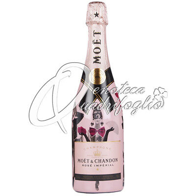 Moet & Chandon Rose' Imperial Unconventional Love 2018 Champagne Brut 12% 75Cl