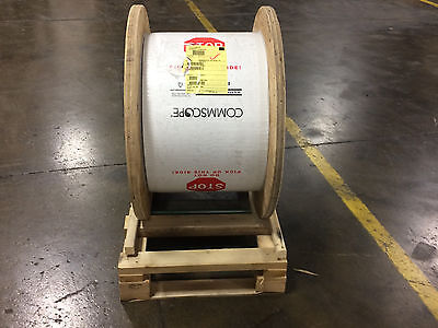 Commscope O-008-DA-8W-F08NS 8 CT SM Jacketed Armored Fiber Cable-5062' Reel