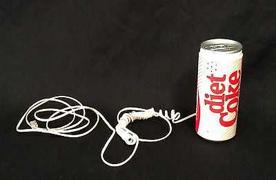 Vintage Diet Coke can handset phone 1980s