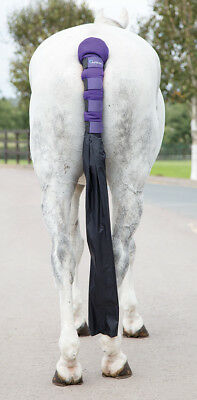 Shires Tail Guard with Bag-Purple