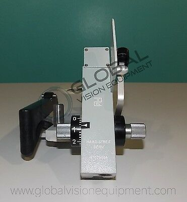 Haag Streit Applanation tonometer 870 / Slit Lamp / Tonometer Prism