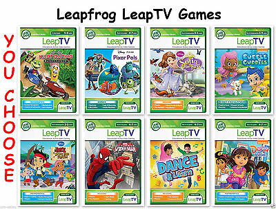 LEAP TV ~ LEAPFROG LEAPTV LEARNING GAMES ~ **B.NEW**Fast Dispatch
