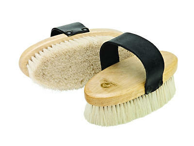 Cottage Craft Goat Hair Body Brush - Small