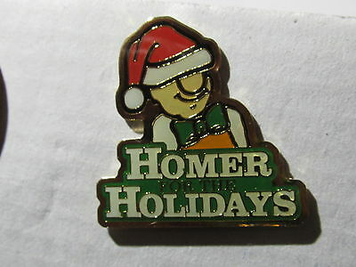 home depot collectibles homer holiday lapel pin
