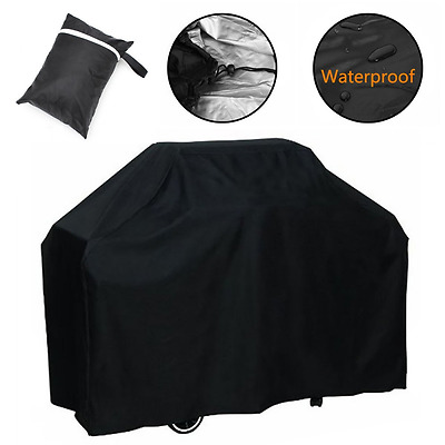 Barbecue Cover Heavy Duty Waterproof BBQ Grill Cover Small 145cm for Weber Genes