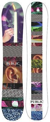 Public 2017 Therapy Snowboard - 148cm, 151cm, 154cm(All sizes available)