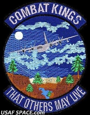 USAF 71st RESCUE SQUADRON -C-130- COMBAT KINGS -Moody AFB, GA- ORIGINAL PATCH