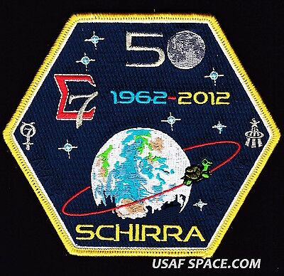SIGMA 7- 50th ANNIVERSARY - WALLY SCHIRRA - ORIGINAL Tim Gagnon NASA SPACE PATCH