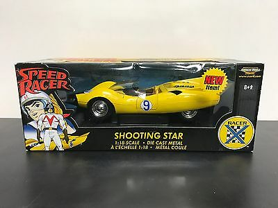 SPEED RACER Shooting Star 1:18 scale diecast car RACER X by American Muscle