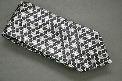 4be4b2ab134e ZILLI EXQUISITE IMPORTED Silk Black & White Geometric 61