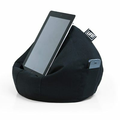iCrib Tablet Bean Bag Cushion – Black – pillow stand ipad Samsung Android