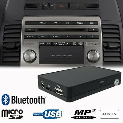 Bluetooth USB SD AUX MP3 Adapter Interface Car Kit Mazda 3 / Ford Ranger Thunder