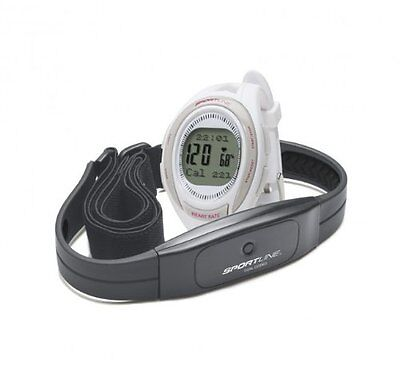 Sportline Women's Cardio 660 Coded Heart Rate Monitor - White