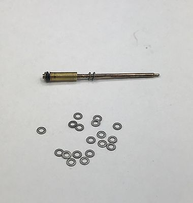 20 Stainless Needle Valve Spacers (#29) for Vintage Dun-hill Rolla-gas lighter
