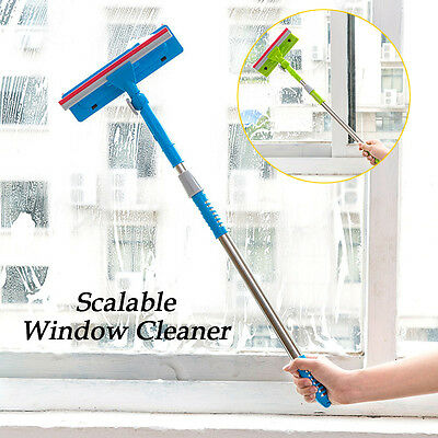 New Window Squeegee Cleaner Extendable Metal Handle Car Cleaning Window Glass