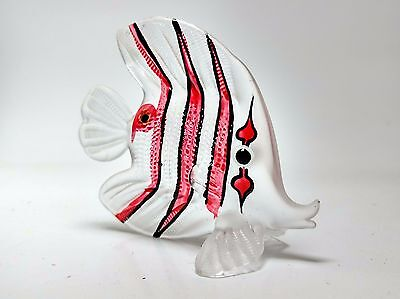 Aquarium MINIATURE HAND BLOWN Art GLASS Fish FIGURINE Collection