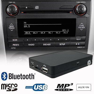 Bluetooth USB SD AUX MP3 CD Changer Adapter Car Kit TOYOTA Auris Avensis Corolla