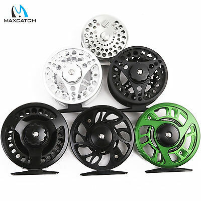 Maxcatch 3/4/5/6/7/8WT Fly Reel Aluminum Large Arbor Fly Fishing Trout Reel