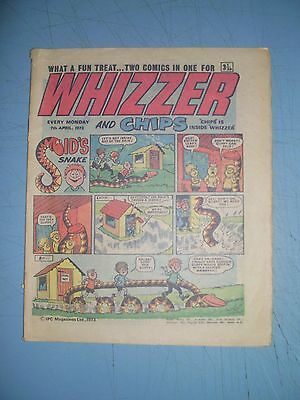 Whizzer and Chips issue dated April 7 1973
