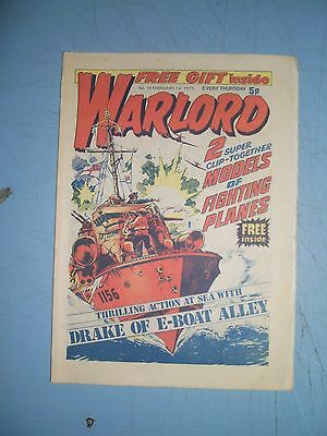 Warlord issue 19 dated February 1 1975