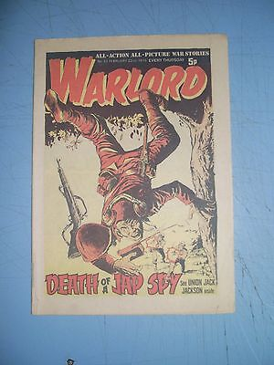 Warlord issue 22 dated February 22 1975