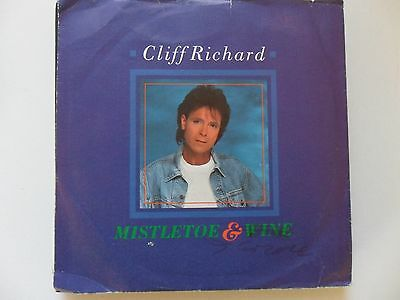 "Cliff Richard Mistletoe & Wine  7"" Vinyl"