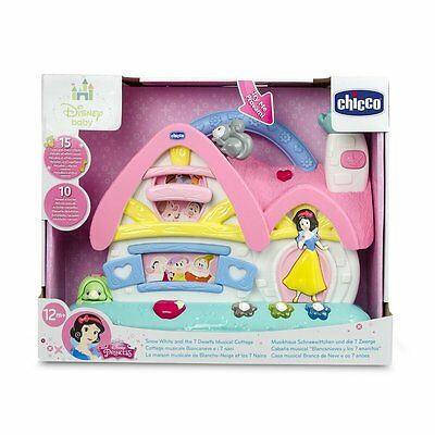 Chicco Disney Snow White and 7 Dwarfs Musical Cottage Toy