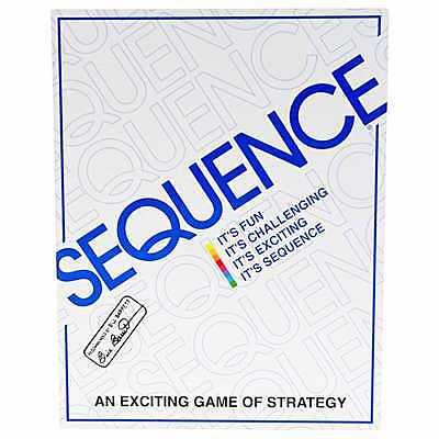 Sequence Board Game Get 5 in a row Sequence and Win