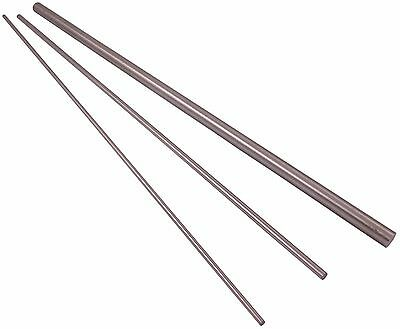 """Silver Steel Ground Round Bar Metric 1Mm To 6.5Mm 333Mm 13"""""""