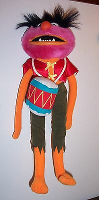 """Vintage 1980's Jim Henson's Muppets """"animal"""" Plush Character Ex Cond."""
