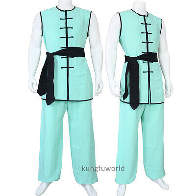 Linen 24 Colors Tai chi Nanquan Suit Martial arts Kung fu Shaolin Uniforms