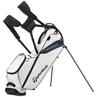 IN-STOCK 2017 TaylorMade Flextech Lite Carry Golf Bag White Flex Tech
